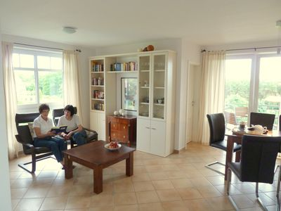 Photo for 3-room apartment, 61 square meters, swimming pool u. Sauna about 8 minutes to the beach, WiFi