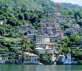 Photo for Romantic luxurious apartment with terace and wonderful lake view