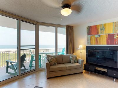 Photo for Resort condo with shared pool, hot tub, tennis, and sauna with easy beach access