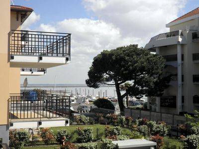 Photo for ARCACHON beautiful new apartment with sea view terrace and private parking