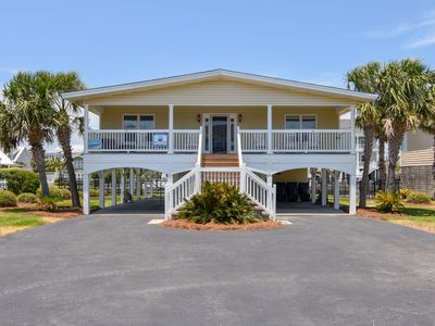 Just Add Water: 4  BR, 3  BA House in Garden City Beach, Sleeps 8