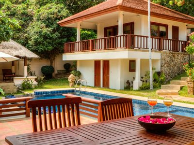 Photo for A luxury villa in a tropical paradise  Located in Samui Summit Estate, within easy reach to Choeng M