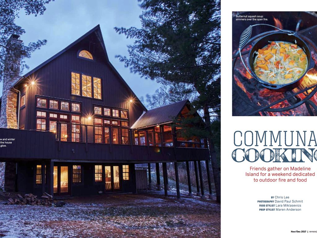 Featured in the midwest home magazine nov vrbo for Midwest home magazine