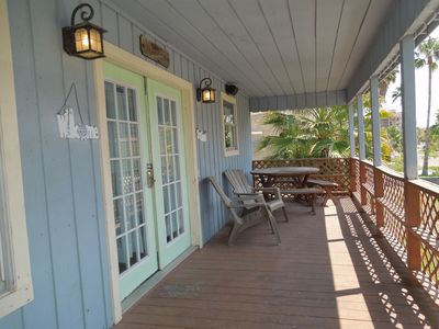 Photo for Affordable Family Tides 4 Bdrm plus separate Game Room and Steps from Beach!