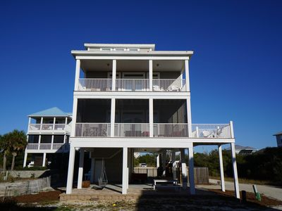 Photo for Upscale, casual, pet friendly, north cape, coastal-style beach house!