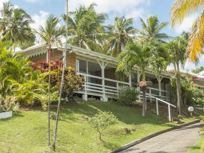 Photo for THE LITTLE PARADISE VILLA T3 SEA VIEW, SWIMMING POOL, BEACH 200m