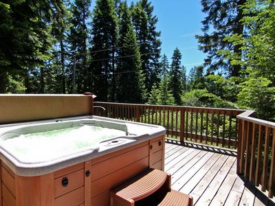 Photo for #46 The Cabins at Hyatt Lake - Sleeps 5 - Hot Tub