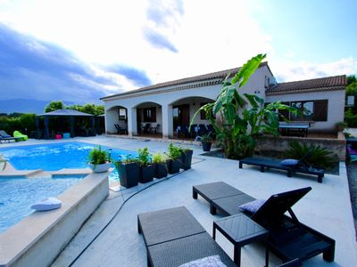 Photo for Wonderful VILLA WITH HEATED SWIMMING POOL AND JACUZZI