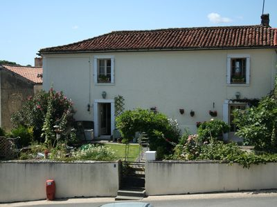 Photo for Cosy French Village House in the heart of the Marais Poitevin !