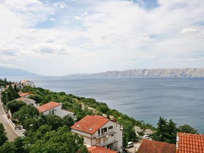 Photo for Two bedroom apartment with terrace and sea view Novi Vinodolski