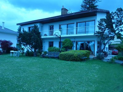 Photo for Thonon, in residential area, studio house near the spa.