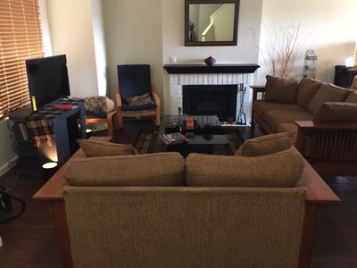 Photo for Furnished 3/2.5 townhouse in Carson - 2 car attached garage, w/d, patio