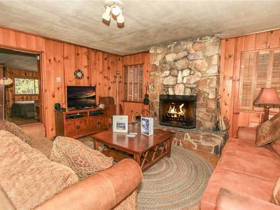 Photo for High View Retreat - WiFi and Wood Burning Fireplace. FREE 2 hour Bike/Kayak Rental!