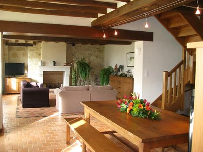 Photo for 5 STAR LUXURY COTTAGE - 8 PERSONS WITH HEATED POOL Anjou