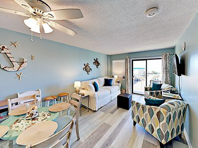 Photo for New Listing! Updated Condo w/ 7 Resort Pools, Hot Tubs & Boardwalk to Beach