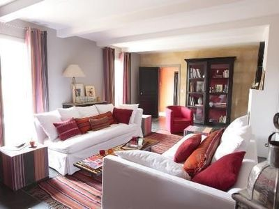 Photo for Charming farmhouse, 15min away from Uzes, in Vers-Pont-du-Gard