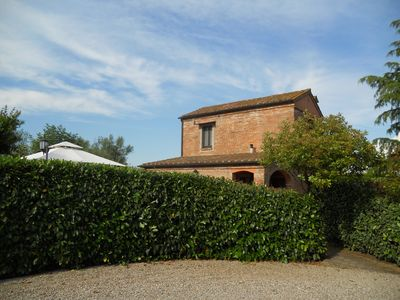 Photo for Le Manzinaie - Villa Viole with pool in typical Tuscan farmhouse