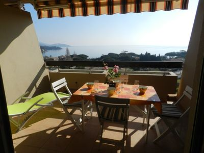 Photo for SAINT CLAIR - SUPERB SEA VIEW. 2 ROOMS RENOVATED. SOUTH-EAST EXPO
