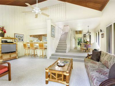 """Photo for Poipu Spacious 2nd Bedroom is a LOFT w/Tropical Garden View """"A/C Master"""" *Manualoha 1101*"""