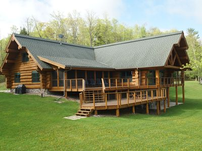 Photo for One of a Kind North Woods Lake Lodge