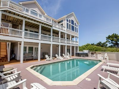 Photo for The Little Mermaid | 75 ft from the beach | Private Pool, Hot Tub | Corolla