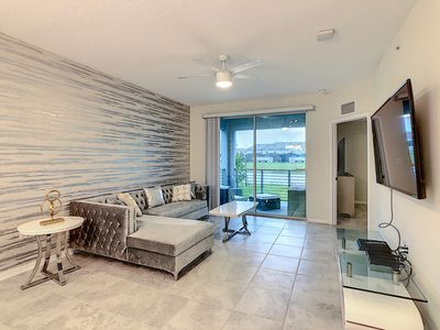 Photo for NEW SPECIAL OFFER! - Smiley - Amazing condo Apt (5 Min Disney and Outlets)