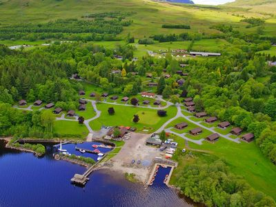 Photo for Holiday resort Loch Tay 2 Bed Lodges, Killin