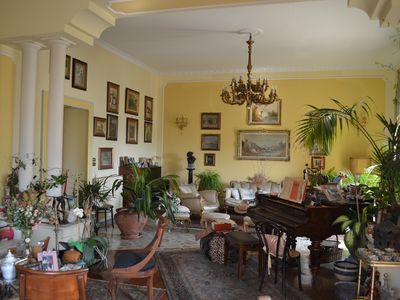 Photo for Charming baroness historic apartment on the roofs of ancient Naples