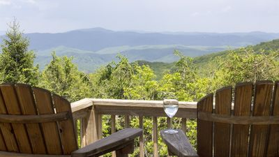 Photo for Sky-High Mountain-Top Home W/Awesome View * Near Major Attractions
