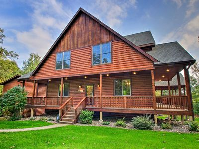 Photo for Lakefront Cabin in Pequot Lakes w/ Private Dock!