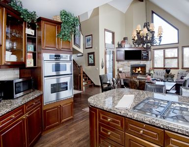 kitchen viewing into living room
