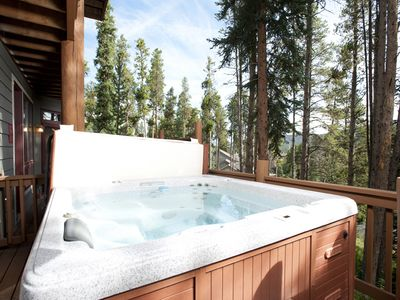 Photo for Private Hot Tub, On Call Shuttle, Hiking Trails