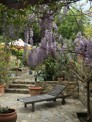 Photo for In the heart of the Chianti, Tuscan  vacation house with a shared swimming pool.