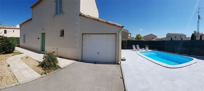 Photo for NARBONNE-PLAGE : spacious 3-bedroom villa