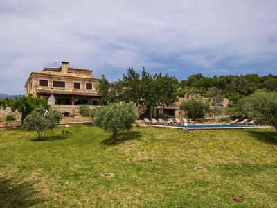 Photo for This 7-bedroom villa for up to 14 guests is located in Inca and has a private swimming pool and Wi-F
