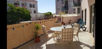 Photo for Spacious town centre apartment with large terrace