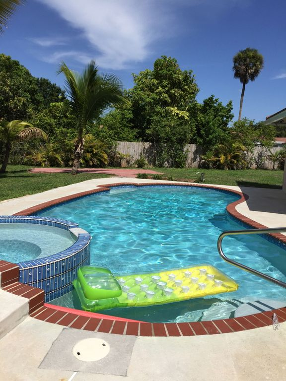 4 2 boca raton home with heated pool sleeps 8 boca raton - Florida condo swimming pool rules ...