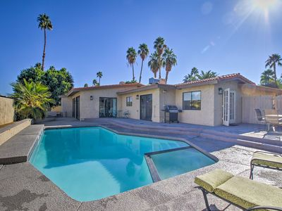 Photo for Breezy Palm Springs Home w/Pool, 2 Mins from Golf!