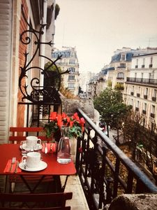 Photo for Charming Parisian apartment in the heart of Montmartre
