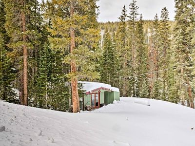 Photo for New! Secluded Breck Cabin 10 Mins to Pk 9/free bus