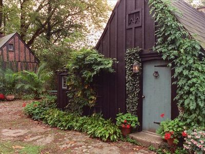 Photo for Romantic Gothic Cottage - 1 mile from downtown New Hope