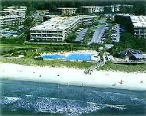 Aerial View of Hilton Head Island Beach & Tennis Resort
