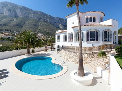 Photo for Beautiful Villa, contemporary interior, sea view, 1.5 km from the center and the beach.
