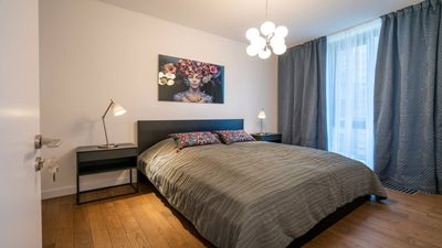 Photo for Easyrooms Dzirnavu modern apartment in the quite center