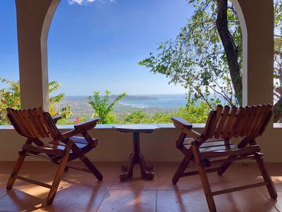 Photo for Panoramic Ocean + Jungle Views, best land in Nosara, newly renovated!