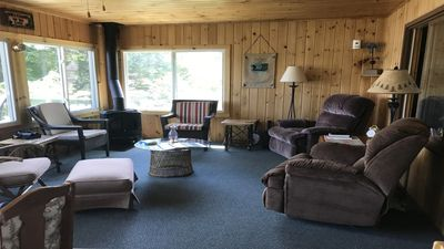 Photo for An ample cabin with Lake Hayward right out the door and conveniences nearby, too