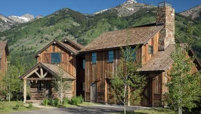 Photo for Luxury cabin in Teton Village with expansive views of Rendezvous Mountain