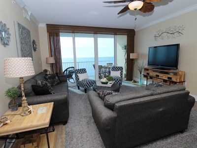 Photo for San Carlos 1503- Beach Front Views from Terrace with Luxurious Interior!