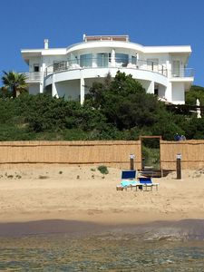 Photo for THE BLUE, APARTMENT ON THE SEA IN VILLA IN SABAUDIA