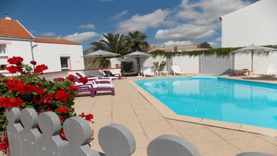 Photo for Rental classified 3 *** of 4 rooms for 6 people and heated swimming pool